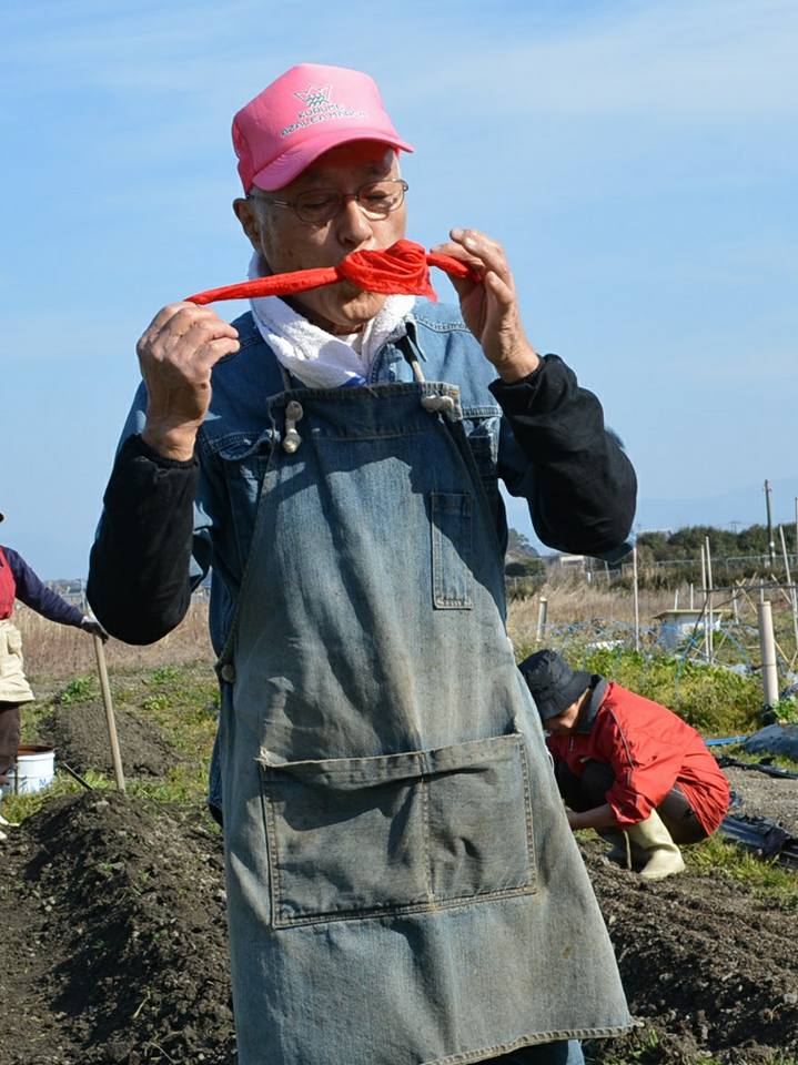 ボナペティ 久留米 「無農薬野菜を育てている「久留米農業サポーター」