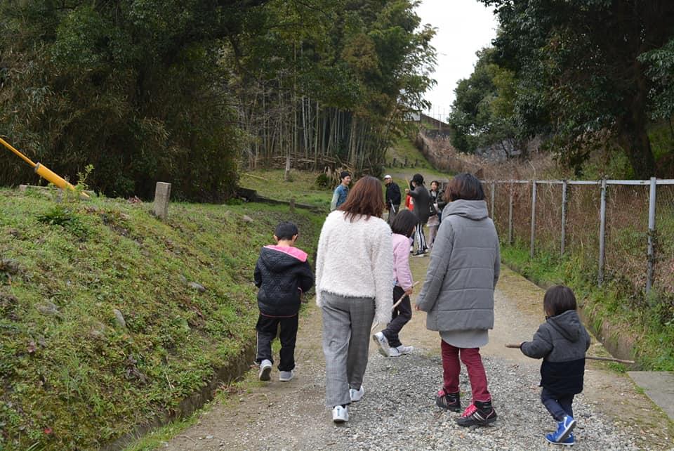 ボナペティ 久留米 フードドライブ後のお散歩