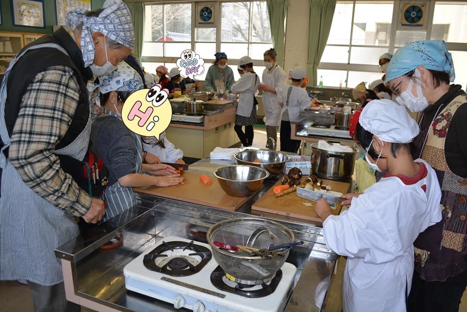 ボナペティ 久留米 カレー作り