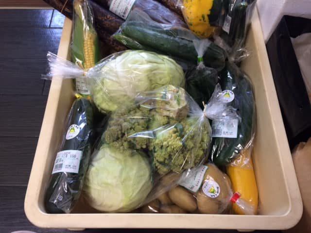ボナペティ 久留米 フードドライブ 野菜