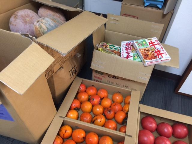 ボナペティ 久留米 フードドライブ 柿 トマト