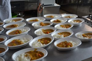 ボナペティ 久留米 フードドライブ 多世代食堂 カレー