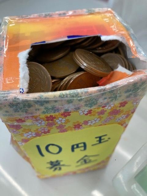 ボナペティ 久留米 フードドライブ こども食堂10円玉貯金