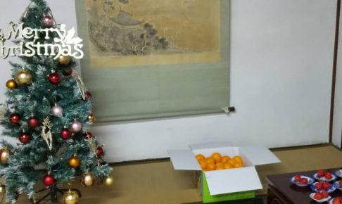 ボナペティ 久留米 フードドライブ こども食堂 クリスマスツリー