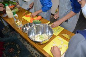 ボナペティ 久留米 フードドライブ こども料理教室