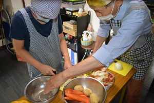 ボナペティ 久留米 フードドライブ こども食堂 お料理教室